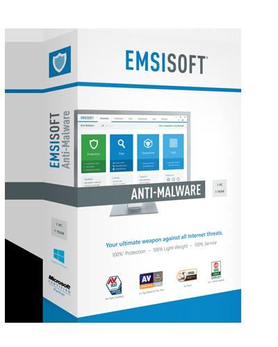 Емсисофт - одбрана од малициозен софтвер